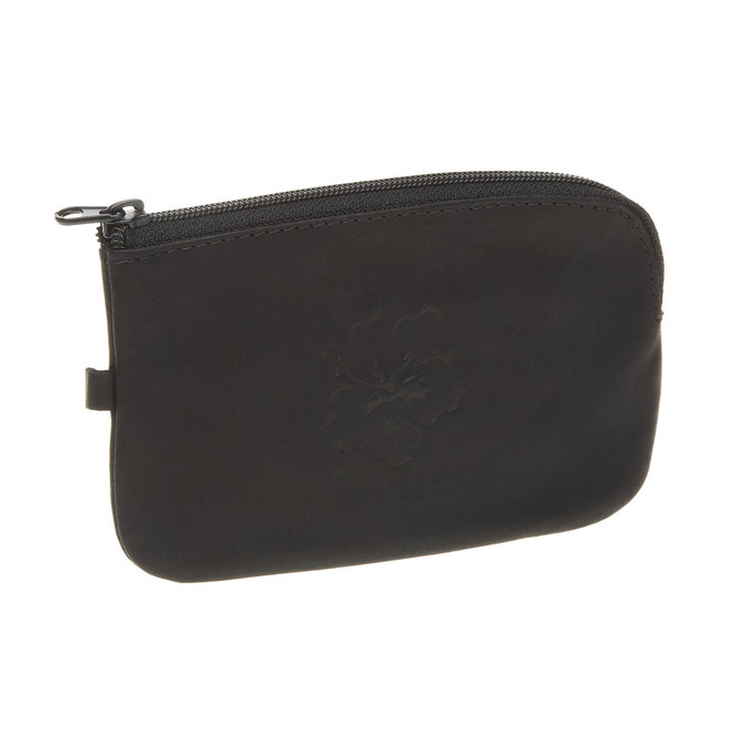 Leather purse bata, black , 944-6161 - 13