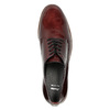 Ladies' Derby shoes bata, red , 528-5600 - 19