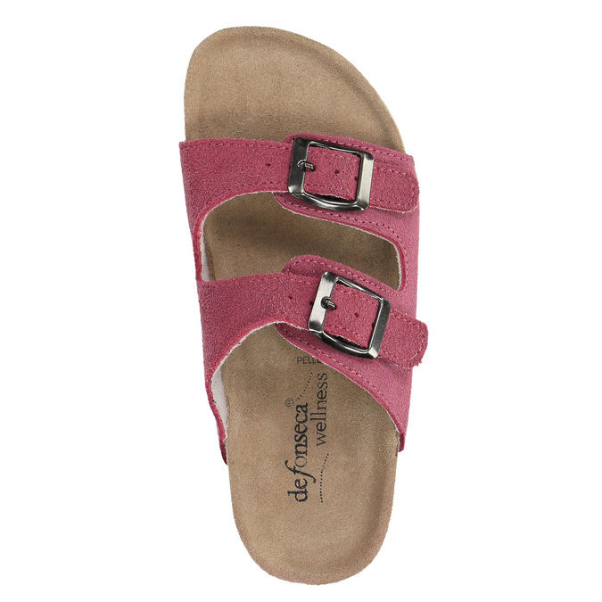 Children's pink slippers, pink , 373-5600 - 19