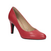 Red leather pumps insolia, red , 724-5633 - 13
