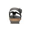 Ladies' leather sandals weinbrenner, black , 566-6101 - 17
