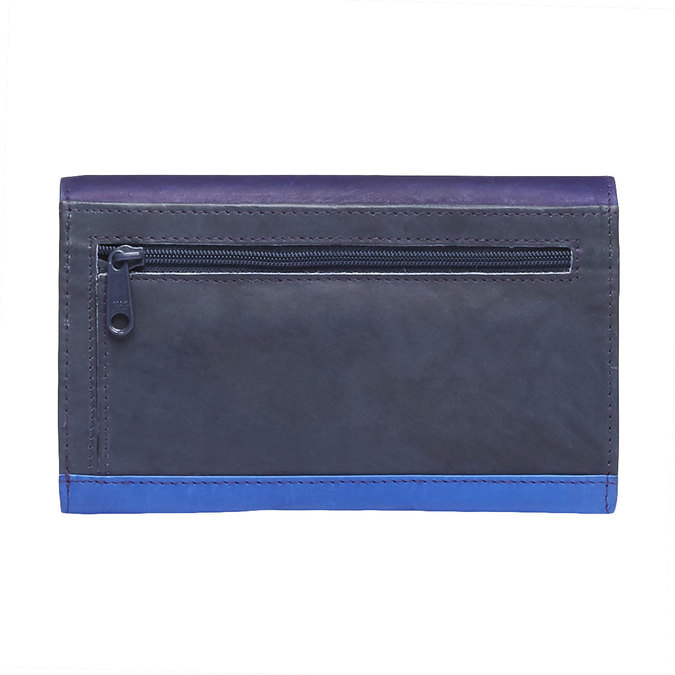 Ladies' leather purse bata, violet , blue , 944-9156 - 26