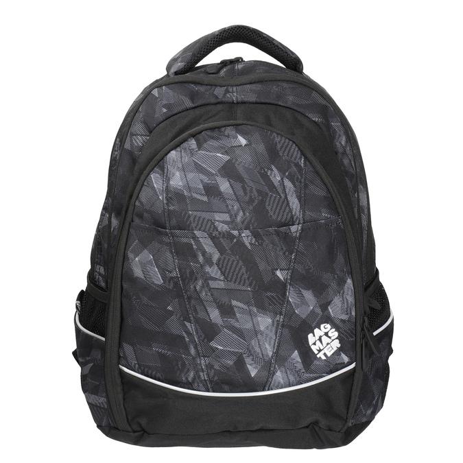Children's School Backpack bagmaster, black , 969-6606 - 17