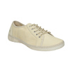 Casual leather shoes weinbrenner, beige , 526-8610 - 13
