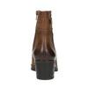Ladies' ankle shoes bata, brown , 696-4603 - 17
