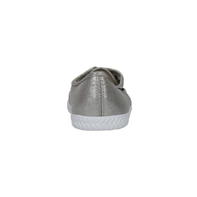 Ladies' silver sneakers tomy-takkies, silver , 519-1690 - 17
