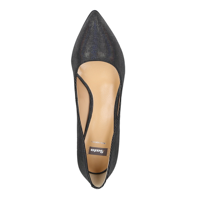Ladies' pumps with colourful glitter bata, 629-0631 - 19