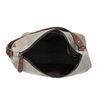 Leather Hobo-style handbag bata, gray , 963-2130 - 15