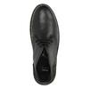 Leather Chukka boots bata, black , 824-6665 - 19