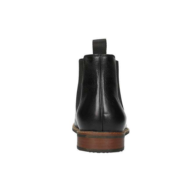 Leather Chelsea Boots bata, black , 894-6666 - 17