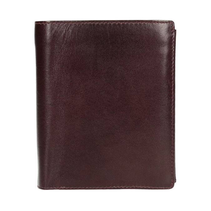 Leather wallet bata, brown , 944-4121 - 26