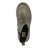 Leather ankle-cut shoes for children mini-b, brown , 394-2316 - 19
