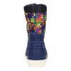 Children's insulated winter snow boots mini-b, blue , 392-9200 - 17