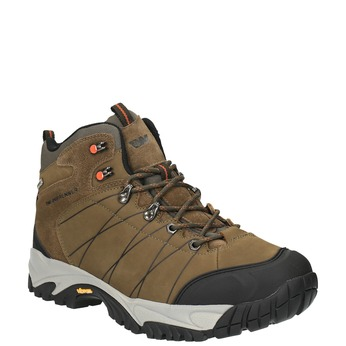 Men's leather outdoor shoes weinbrenner, brown , 846-4601 - 13