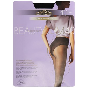 Control tops tights omsa, black , 919-6390 - 13