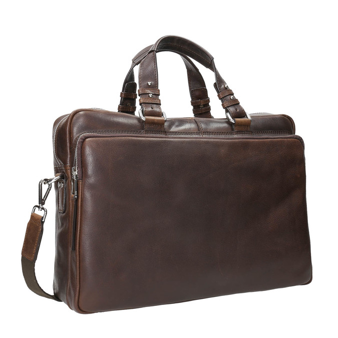 The Seymur Briefcase Bag bata, brown , 964-4106 - 13