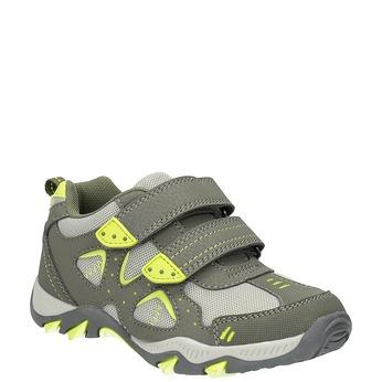 Children's sports sneakers mini-b, green, 411-7605 - 13