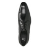 Men's 100% leather  shoes bata, black , 824-6836 - 19