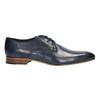 Men's blue leather shoes bata, blue , 826-9836 - 15