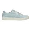 Ladies' leather sneakers bata, blue , 523-9601 - 15