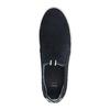 Men´s leather Slip-ons bata, blue , 833-9600 - 19