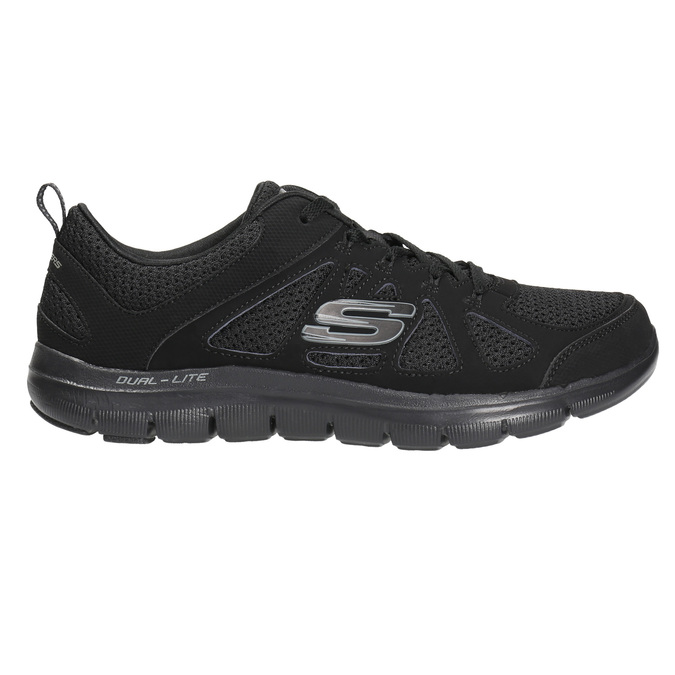 Sneakers with memory foam skechers, black , 509-6963 - 15