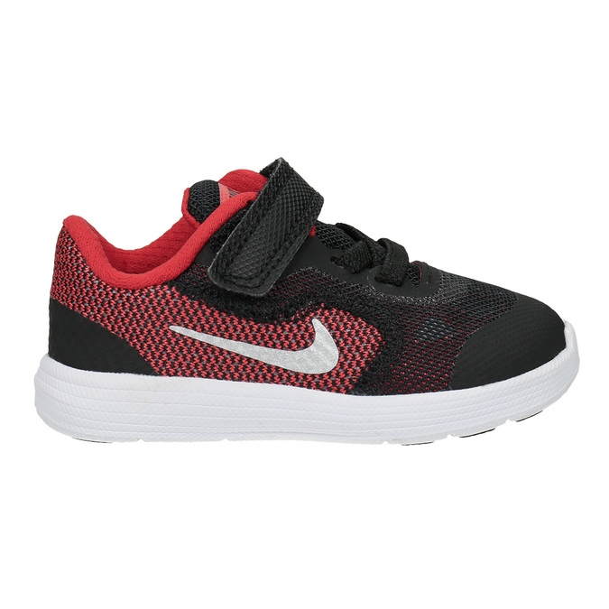Children's sporty sneakers nike, black , 109-5149 - 15