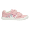 Children's sneakers with floral pattern mini-b, pink , 221-5605 - 15