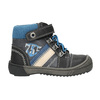 Children's ankle shoes bubblegummer, black , 111-6610 - 15
