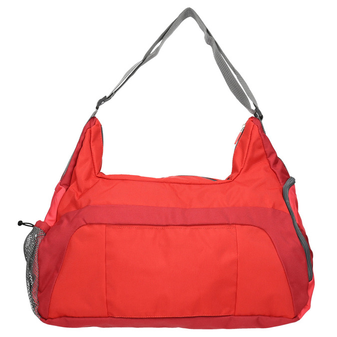 Red travel bag american-tourister, red , 969-5165 - 26