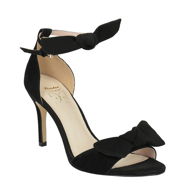 Insolia Ladies' black heeled sandals | Bata