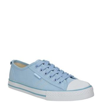 Ladies' blue sneakers north-star, blue , 589-9443 - 13
