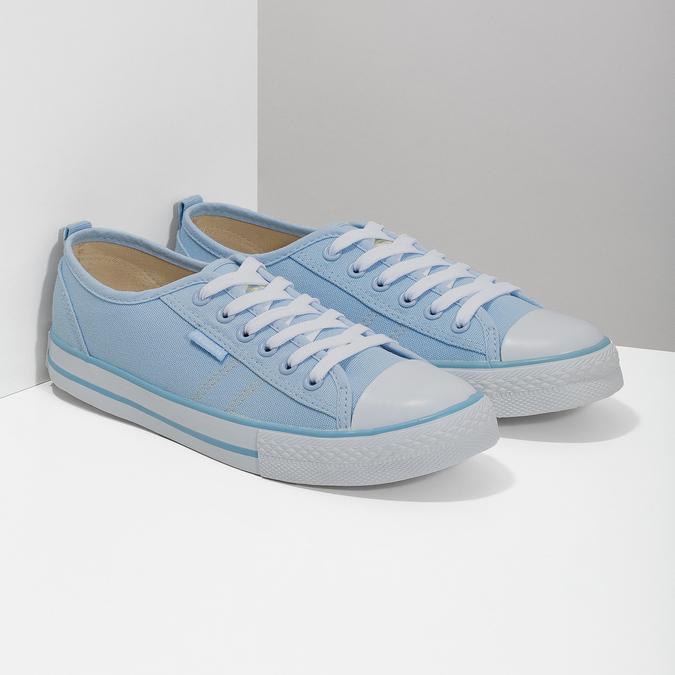 Ladies' blue sneakers north-star, blue , 589-9443 - 26