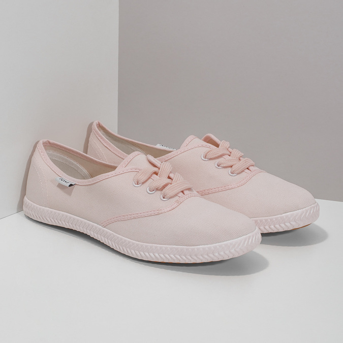 Ladies' pink sneakers tomy-takkies, pink , 589-5180 - 26