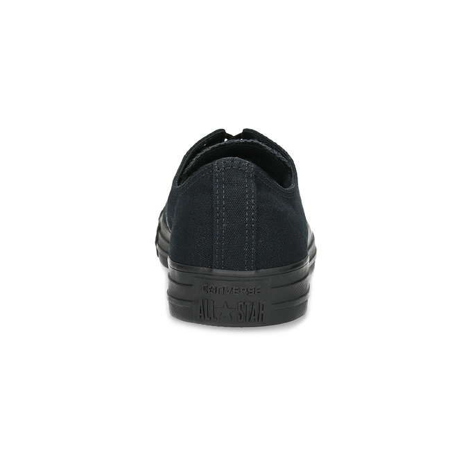 Men's black sneakers converse, black , 889-6279 - 15
