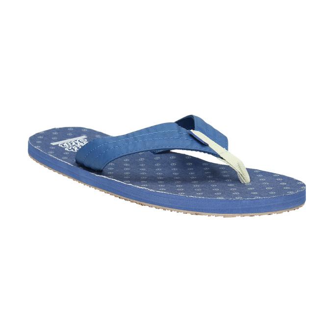 Men's blue flip-flops north-star, blue , 871-9616 - 13