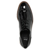 Ladies' patent oxford shoes bata, black , 521-6606 - 19
