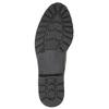 Ladies' patent oxford shoes bata, black , 521-6606 - 26