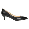 Ladies' leather pumps bata, black , 624-6640 - 15