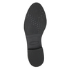 Ladies' shoes with stitching bata, black , 529-6632 - 26