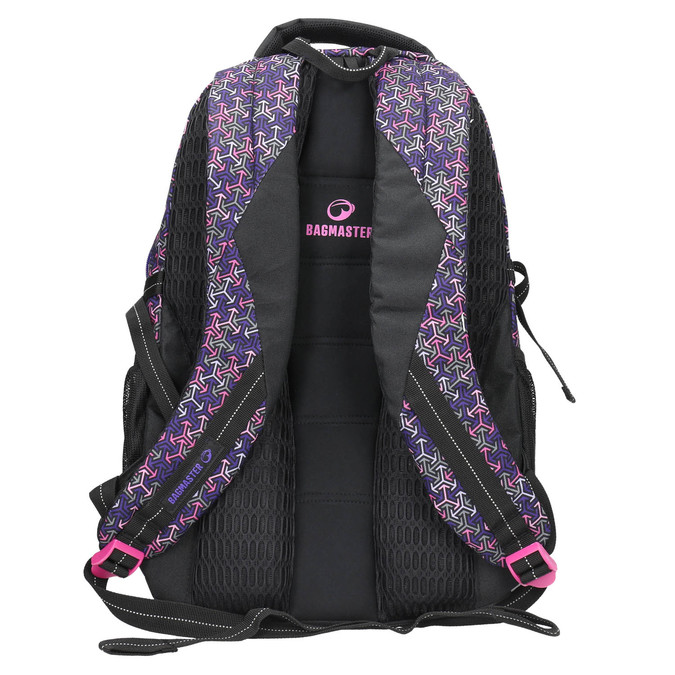 School backpack bagmaster, violet , 969-5648 - 19