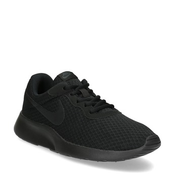 Men's black sneakers nike, 809-0557 - 13