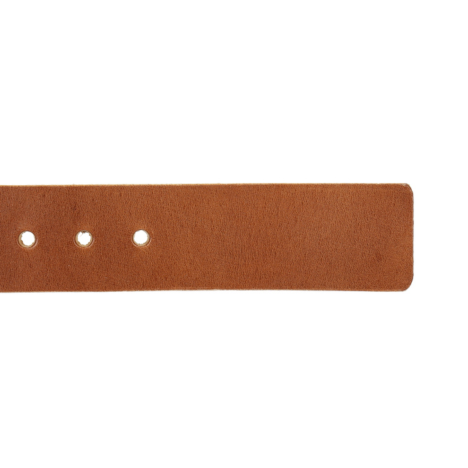 Men's leather belt bata, brown , 954-3191 - 16