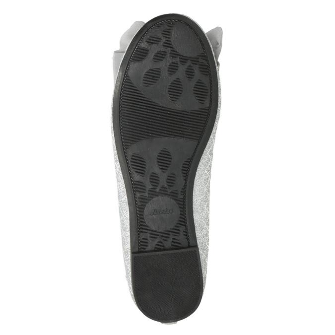 Girls' Silver Sandals mini-b, silver , 329-1286 - 17