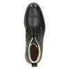 Leather winter shoes bata, black , 894-6642 - 15