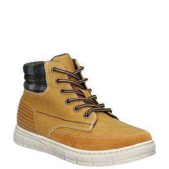 Children's winter boots with distinctive sole mini-b, brown , 311-8611 - 13