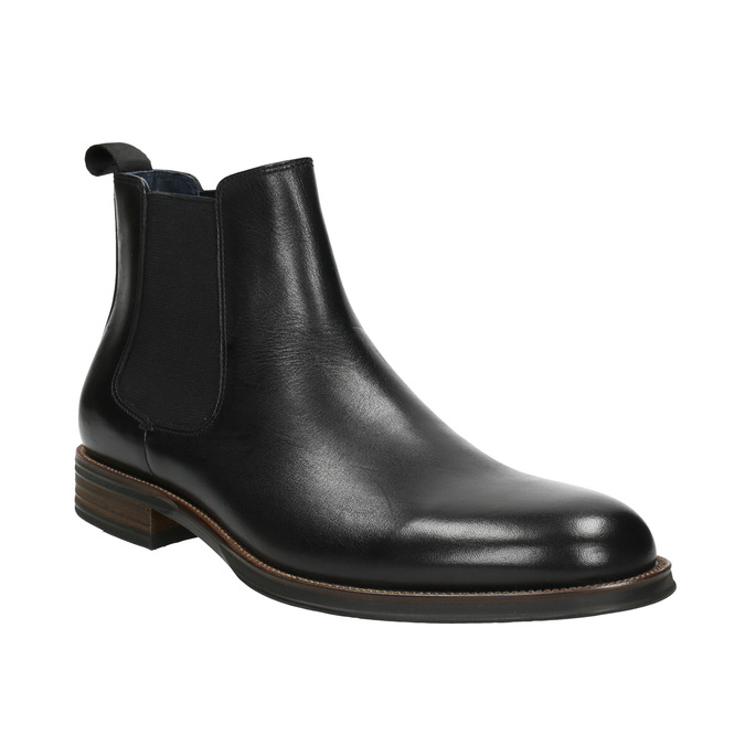Leather Chelsea Boots bata, black , 894-6400 - 13