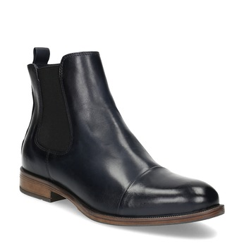 Ladies' leather Chelsea boots bata, black , 594-9636 - 13
