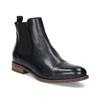 Ladies' leather Chelsea boots bata, black , 594-9636 - 13