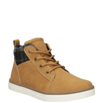Children's High Top Shoes mini-b, brown , 291-8172 - 13